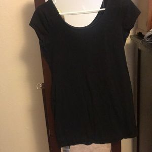 Oversized tshirt dress